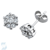 02986 0.46 Ctw Fashion Earring