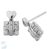 03687 0.31 Ctw Fashion Earring