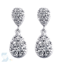 03729 0.48 Ctw Fashion Earring