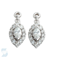 03771 0.49 Ctw Fashion Earring