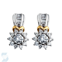 03798 0.77 Ctw Fashion Earring