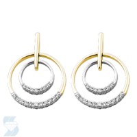 03990 0.24 Ctw Fashion Earring