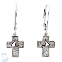 04072 0.10 Ctw Fashion Earring