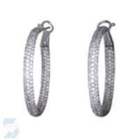 05339 3.74 Ctw Fashion Earring