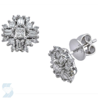 05384 0.59 Ctw Fashion Earring