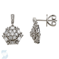 05954 0.64 Ctw Fashion Earring