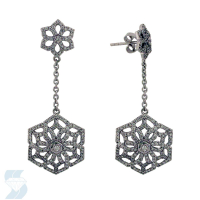 06018 1.06 Ctw Fashion Earring