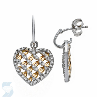 06279 0.36 Ctw Fashion Earring