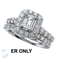 6466 1.61 Ctw Bridal Engagement Ring