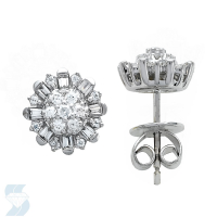 06592 0.36 Ctw Fashion Earring