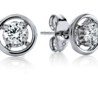 06841 0.40 Ctw Fashion Earring