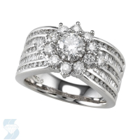 04296 1.98 Ctw Bridal Multi Stone Center