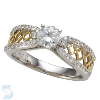 5897 0.74 Ctw Bridal Engagement Ring