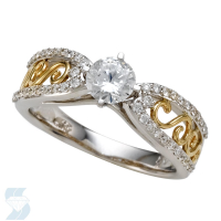 5898 0.74 Ctw Bridal Engagement Ring