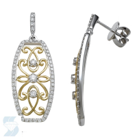 5917 0.69 Ctw Fashion Earring
