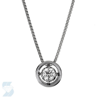 6652 0.10 Ctw Fashion Pendant