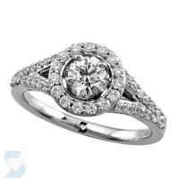 6663 0.86 Ctw Bridal Engagement Ring