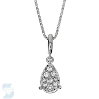 6670 0.12 Ctw Fashion Pendant