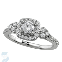 6672 0.79 Ctw Bridal Engagement Ring