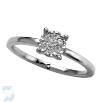 6687 0.11 Ctw Fashion Fashion Ring