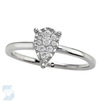 6688 0.12 Ctw Fashion Ring