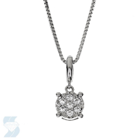 6755 0.11 Ctw Fashion Pendant
