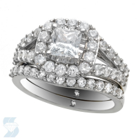 6758 2.07 Ctw Bridal Engagement Ring