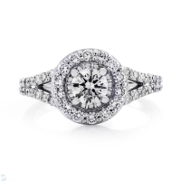 06804 1.12 Ctw Bridal Engagement Ring