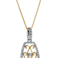 6806 0.37 Ctw Fashion Pendant