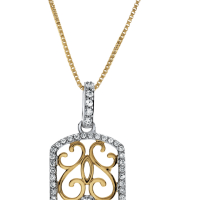 06808 0.33 Ctw Fashion Pendant