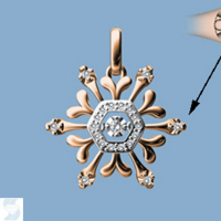 06809 0.09 Ctw Fashion Pendant