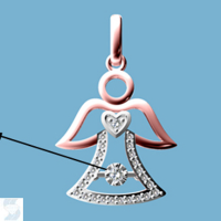 06817 0.10 Ctw Fashion Pendant