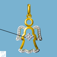 6818 0.10 Ctw Fashion Pendant