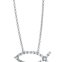 06826 0.51 Ctw Fashion Pendant