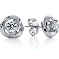 06850 0.40 Ctw Fashion Earring