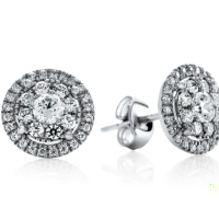 06864 0.72 Ctw Fashion Earring