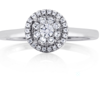 06866 0.27 Ctw Bridal Engagement Ring