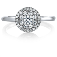 06867 0.36 Ctw Bridal Engagement Ring
