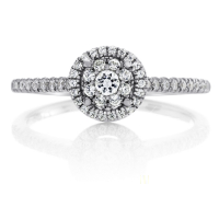 06869 0.30 Ctw Bridal Engagement Ring