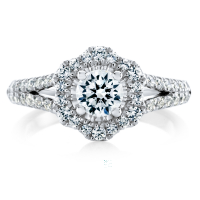 6874 1.04 Ctw Bridal Engagement Ring
