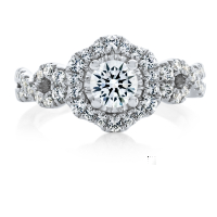 6875 1.01 Ctw Bridal Engagement Ring