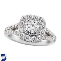 6895 1.33 Ctw Bridal Engagement Ring