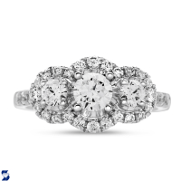 06972 1.49 Ctw Bridal Engagement Ring