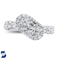 06973 1.39 Ctw Bridal Engagement Ring