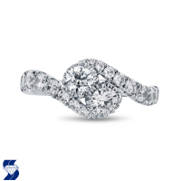 6976 1.38 Ctw Bridal Engagement Ring