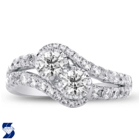 6977 1.43 Ctw Bridal Engagement Ring