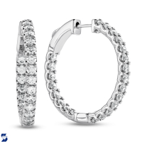 6980 1.95 Ctw Fashion Earring